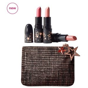MAC Cosmetics Lucky Stars Lipstick Kit in Neutrals